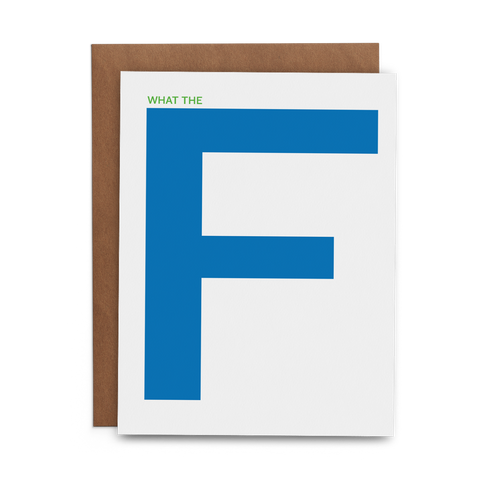 What the F - Lost Art Stationery