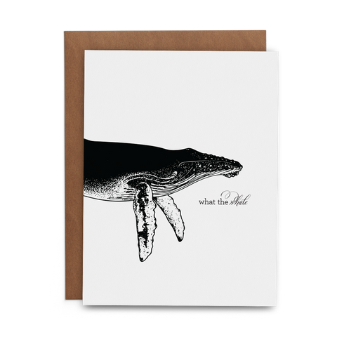 What the Whale - Lost Art Stationery