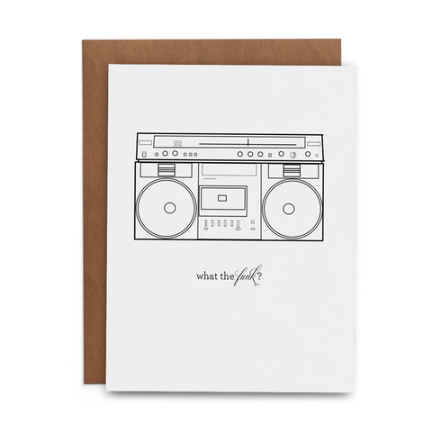 What the Funk? - Lost Art Stationery