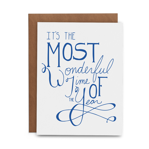 It's the Most Wonderful Time of the Year - Lost Art Stationery