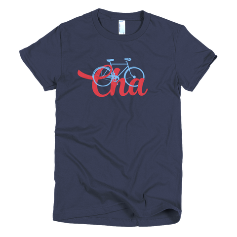Bike Cha Women's T-shirt - Lost Art Stationery