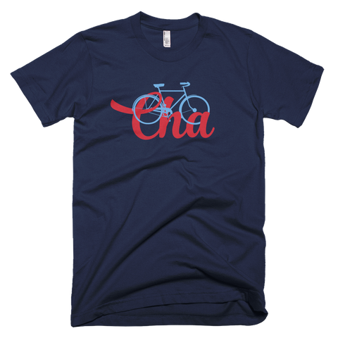 Bike Cha Men's T-shirt - Lost Art Stationery