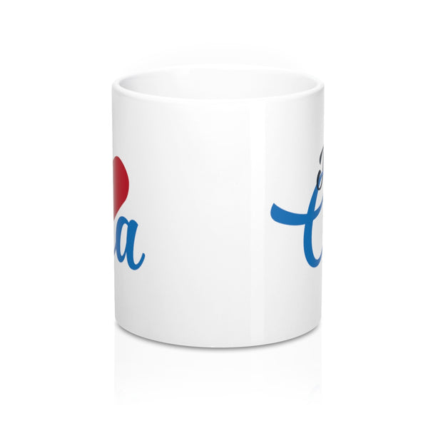 I heart Cha Mug 11oz - Lost Art Stationery