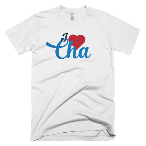 I Heart Cha Men's T-shirt - Lost Art Stationery