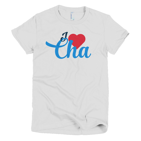 I Heart Cha Women's T-shirt - Lost Art Stationery
