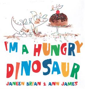 I'm a Hungry Dinosaur by Usborne