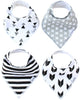 Baby Bandana Bibs in Shade Set