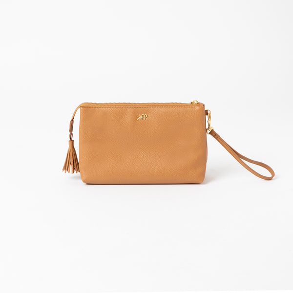 Zip Pouch in Butterscotch by Freshly Picked