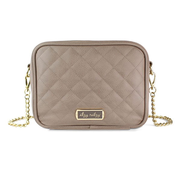 Crossbody in Taupe by Itzy Ritzy