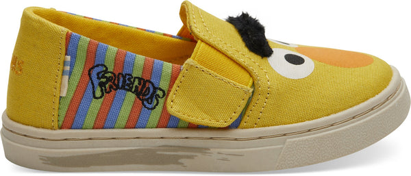 Sesame Street Bert and Ernie Face Tiny Luca Slip-ons Shoes