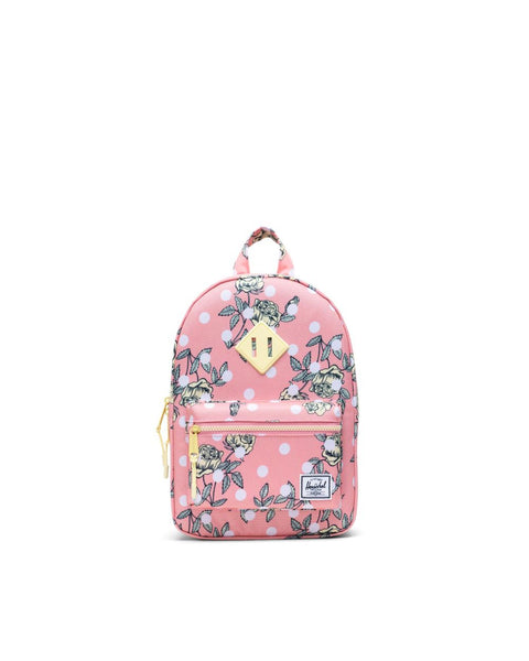 Kids Backpack in Polka Floral Peony by Herschel