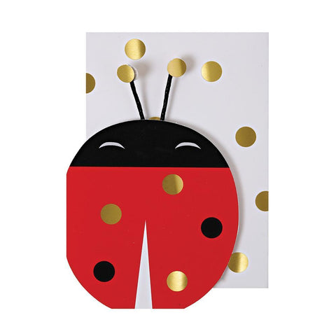 Ladybug with Gold Spots Enclosure