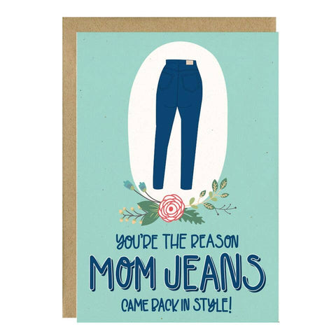 Back in Style Mom Card by Little Lovelies Studio