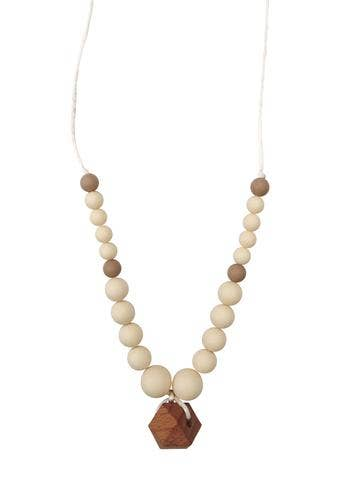The Collins Teething Necklace by Chewable Charm
