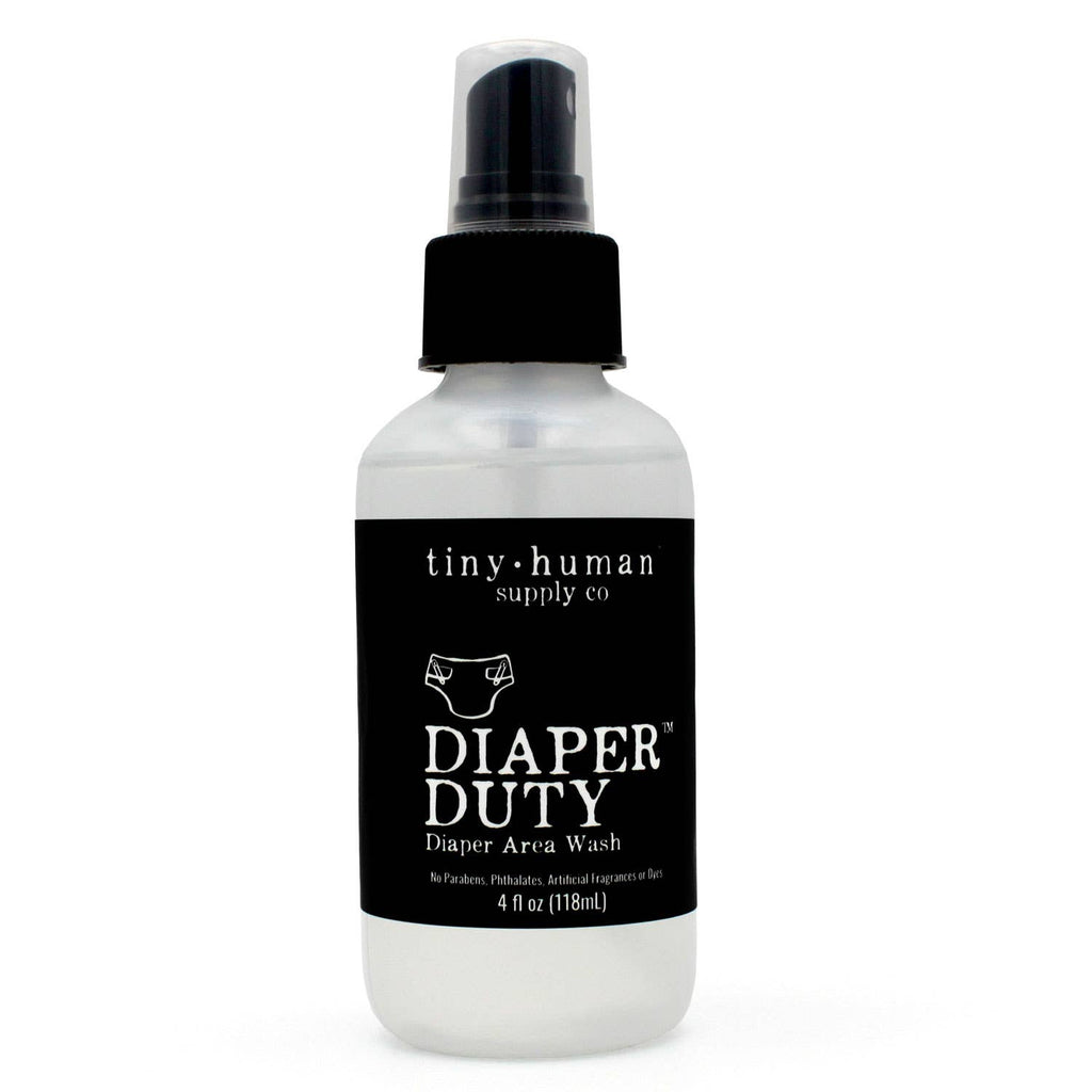 Diaper Duty™  Diaper Area Wash 4oz in Aloe & Orange Blossom by Tiny Human Supply Co.