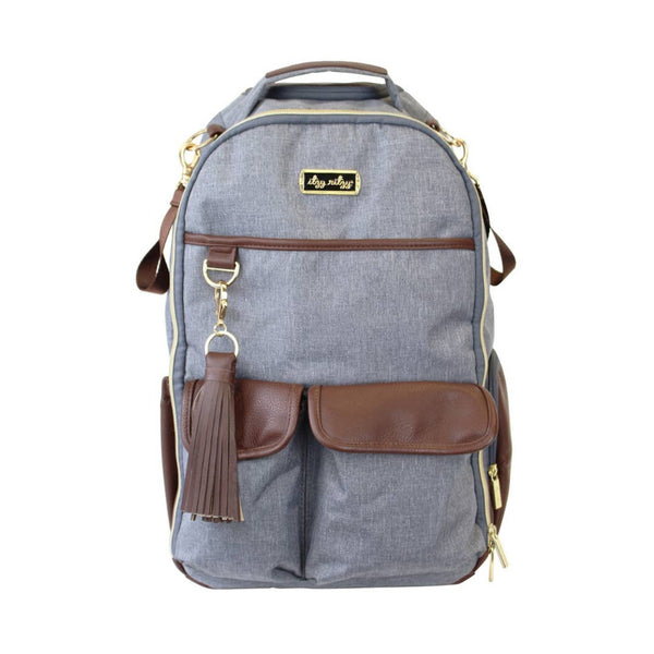 Gray Handsome Heather Boss Diaper Bag