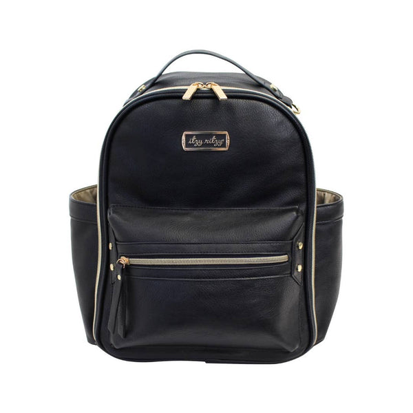 Mini Diaper Bag in Black by Itzy Ritzy
