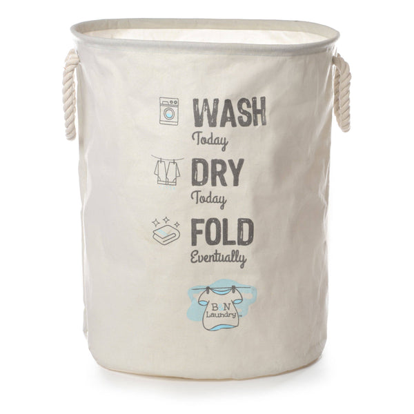 Brooke & Nora At Home - Wash Dry Fold Canvas Laundry Bag