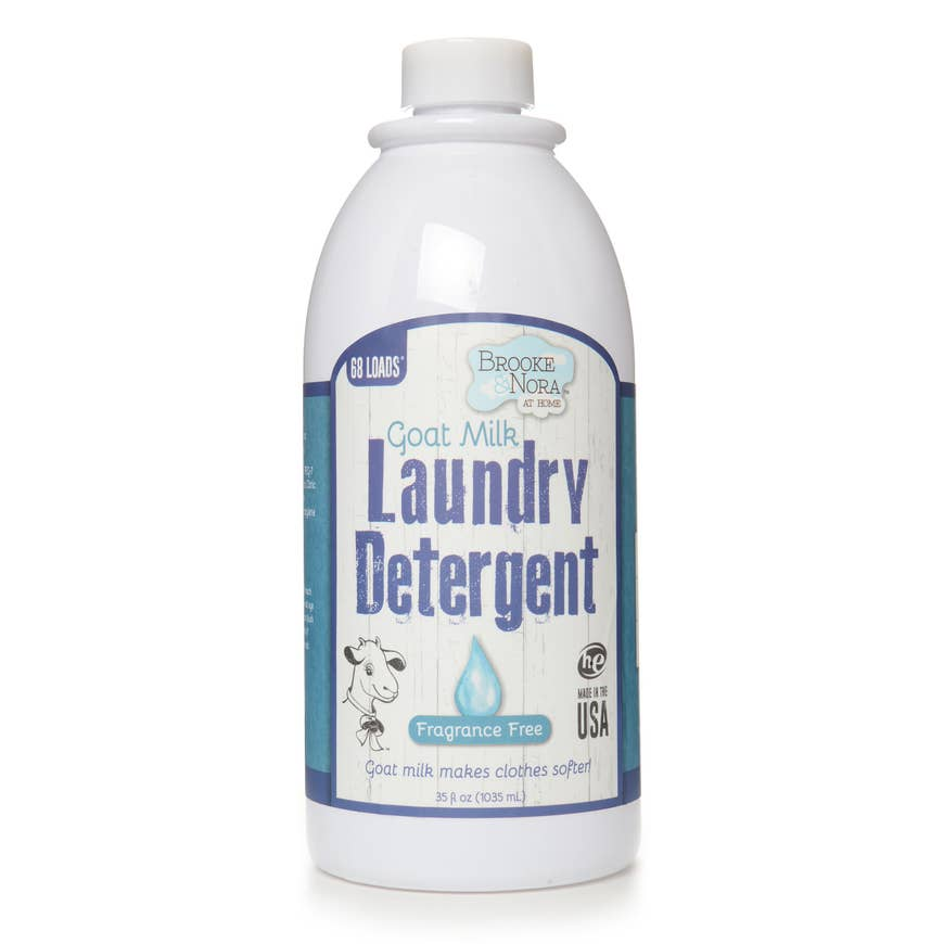 Liquid Detergent in Fragrance Free by Brooke & Nora at Home