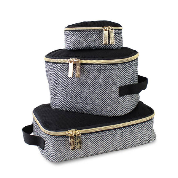 Pack Like a Boss™ Diaper Bag Packing Cubes in Coffee & Cream by Itzy Ritzy