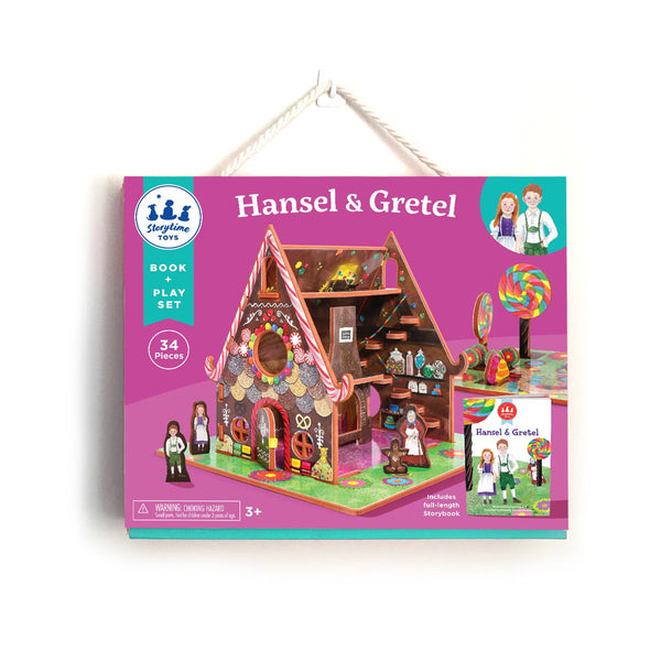 Book and Play Set in Hansel and Gretel by Storytime Toys