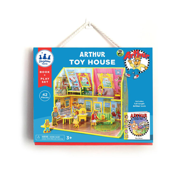 Book and Play Set in Arthur Toy House by Storytime Toys