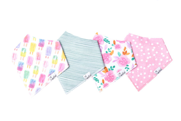 Baby Bandana Bibs in Summer Set by Copper Pearl
