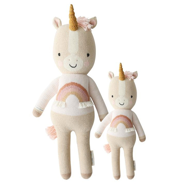 "Zara The Unicorn in Little 13"" by cuddle + kind"