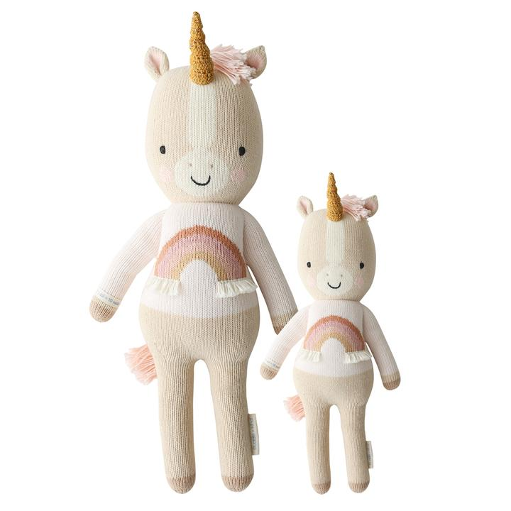 "Zara The Unicorn in Regular 20"" by cuddle + kind"