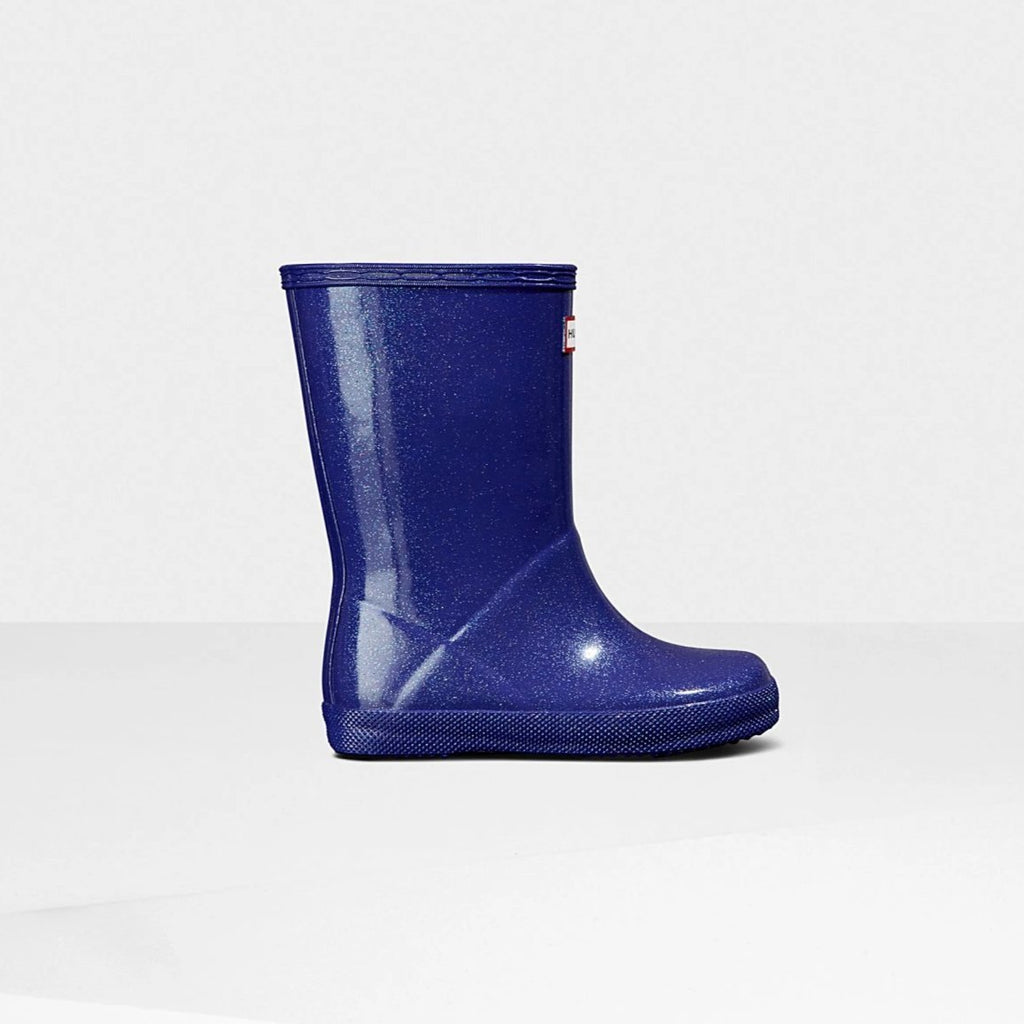 Original Kids First Classic Starcloud Rain Boots in Electric Storm by Hunter Boots