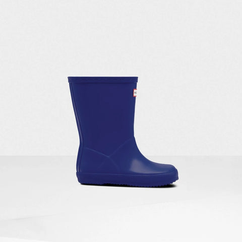 Original Kids First Classic Rain Boots in Electric Storm by Hunter Boots
