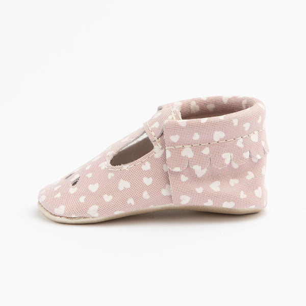 Mary Jane Mini Sole in Pink Sweetheart by Freshly Picked