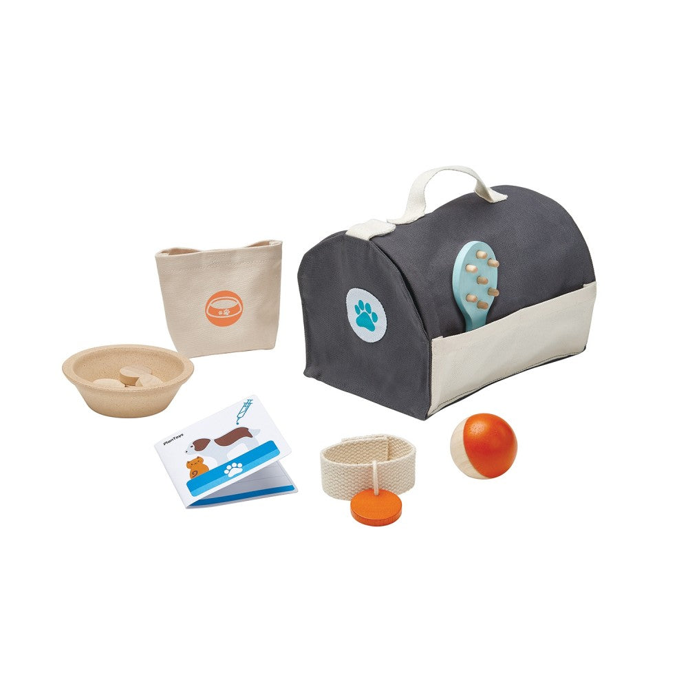 Pet Care Set by Plan Toys