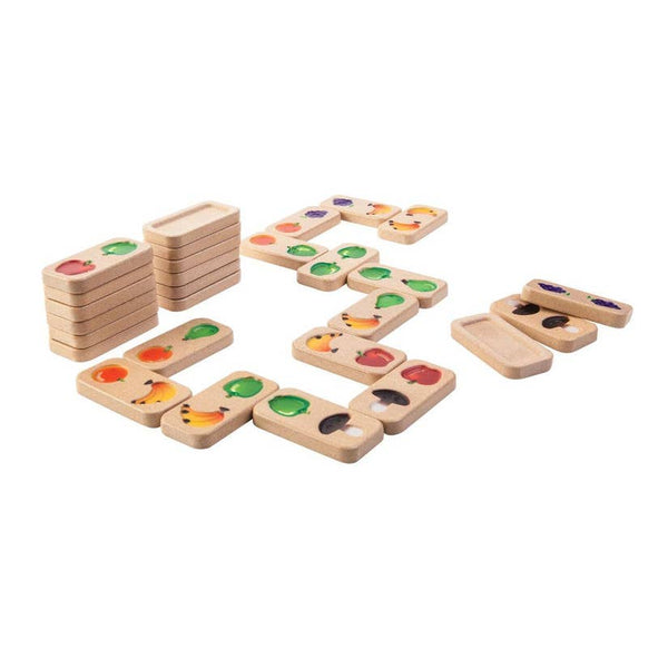 Fruit And Veggie Domino by Plan Toys