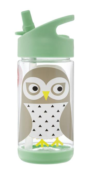Water Bottle in Owl by 3 Sprouts