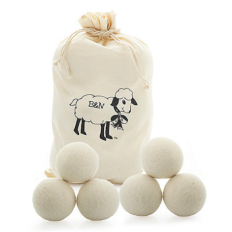 Pack of 6 Wool Dryer Balls by Brooke & Nora at Home