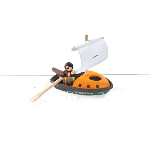Pirate Boat by Plan Toys
