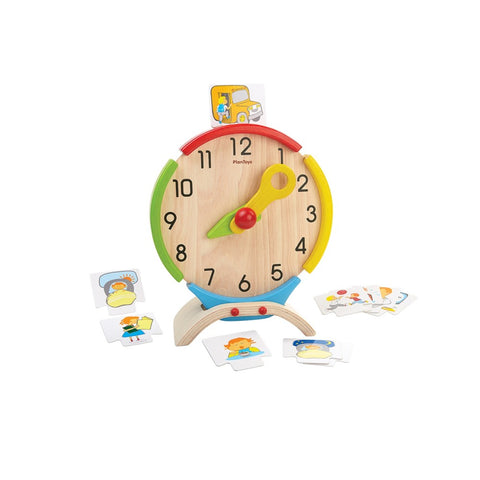 Activity Clock by Plan Toys