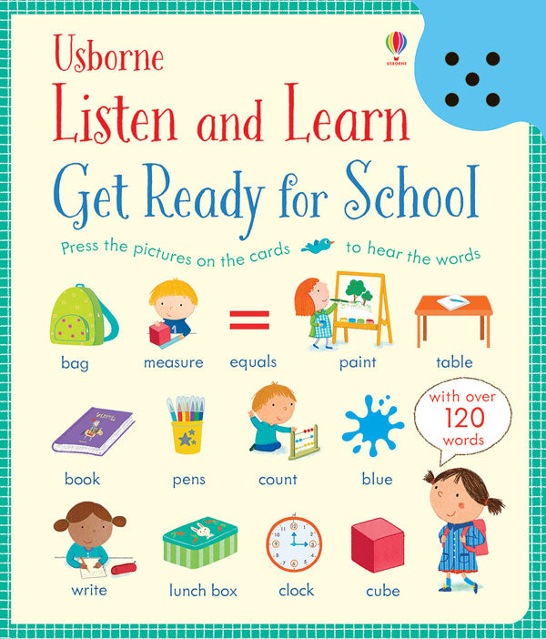 Listen and Learn Get Ready for School by Usborne