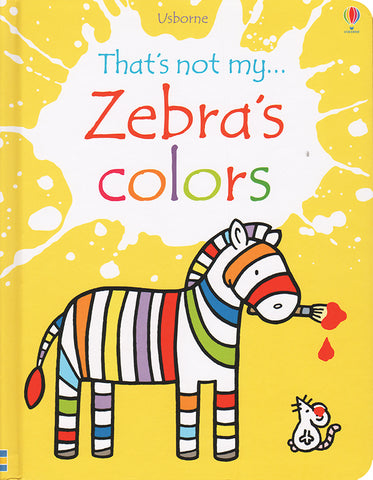 That's Not My Zebra's Colors by Usborne