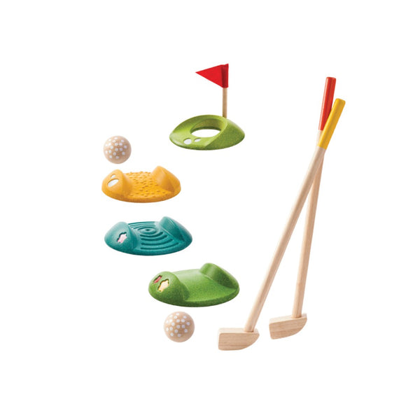 Mini Golf Full Set by Plan Toys