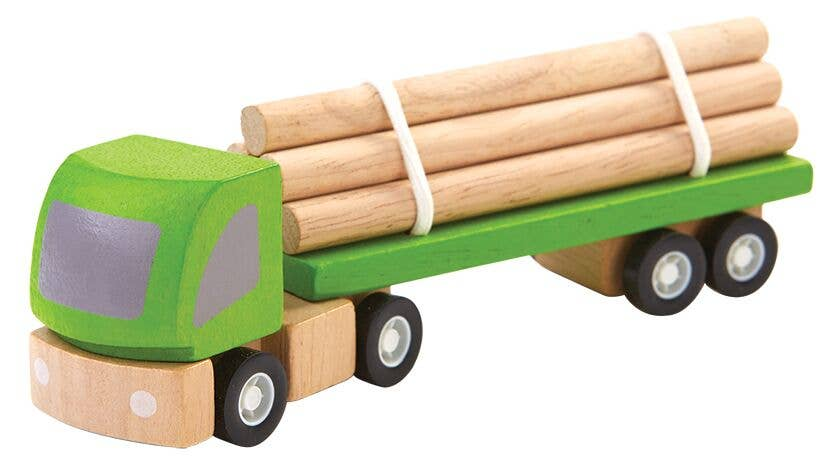 Logging Truck by Plan Toys