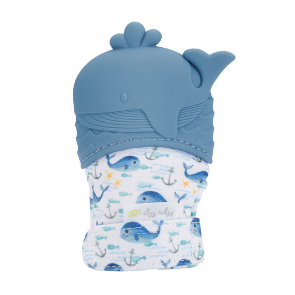 Itzy Mitt™ Silicone Teething Mitts in Whale by Itzy Ritzy