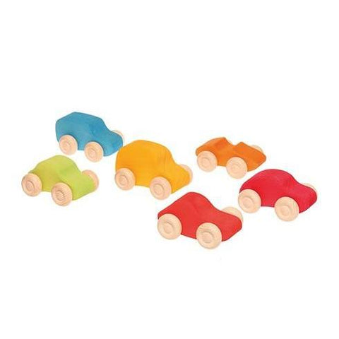 Colored Wooden Cars by Grimm's
