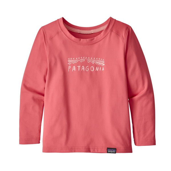 Baby Capilene® Crew in Range Pink by Patagonia