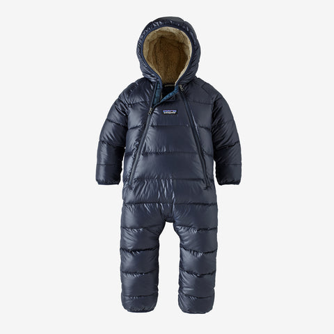Infant Hi-Loft Down Sweater Bunting in New Navy by Patagonia