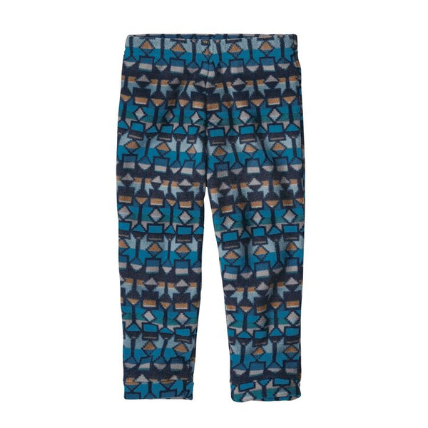 Baby Micro D® Fleece Bottoms in Cedar Mesa Balkan Blue by Patagonia