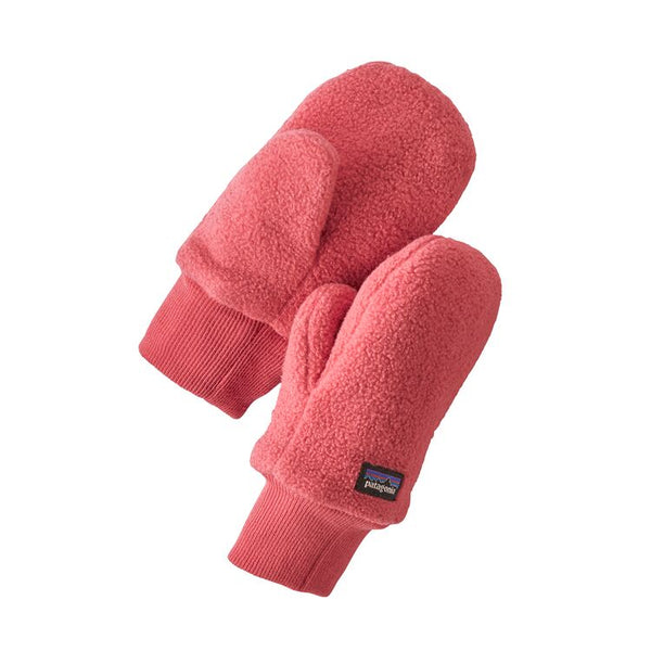 Baby Pita Pocket Mittens in Range Pink by Patagonia