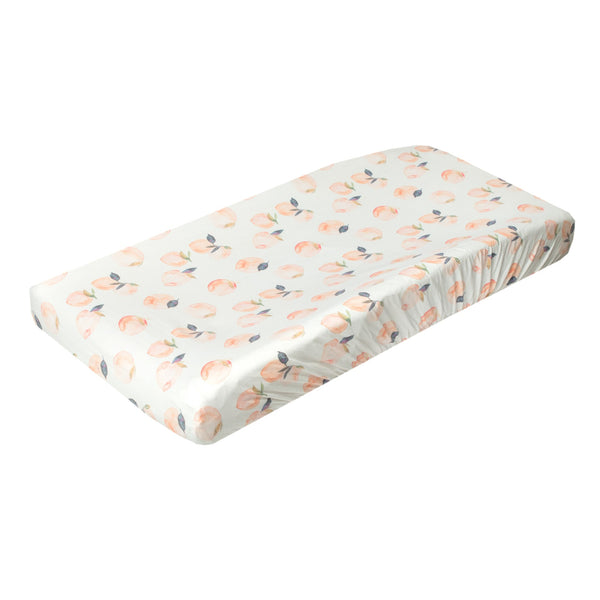 Premium Diaper Changing Pad Cover in Caroline by Copper Pearl