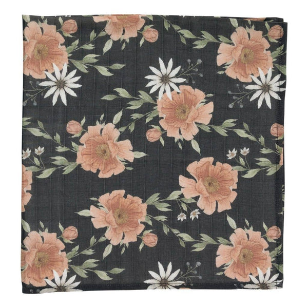 Swaddle in Peony Blooms by The Mini Scout